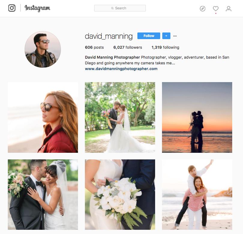david manning instagram