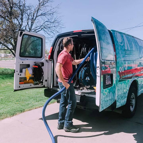 professional carpet cleaning mountain home