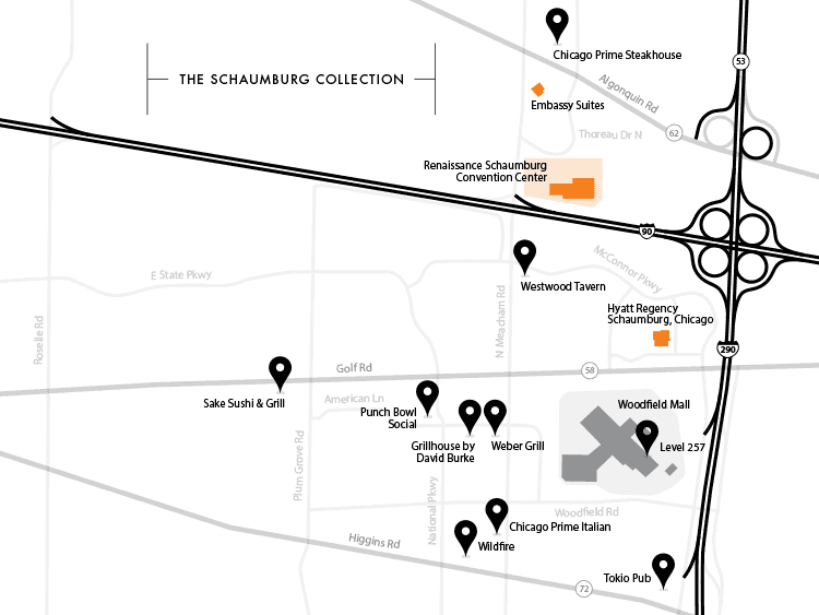 schaumburg collection map