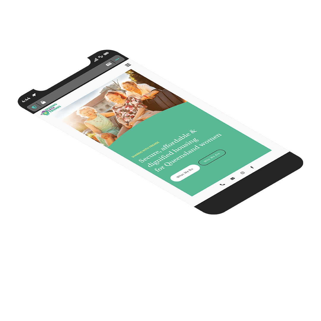 Sharing With Friends : Website Design : Matt Blak