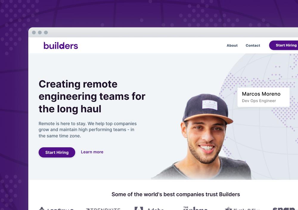 Builders Homepage
