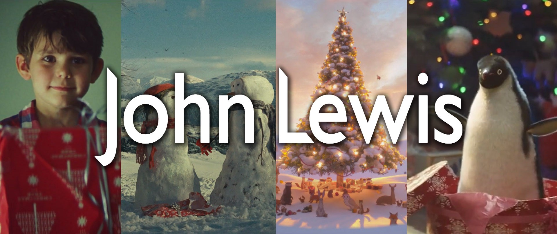 Social medai christmas campaign with John Lewis