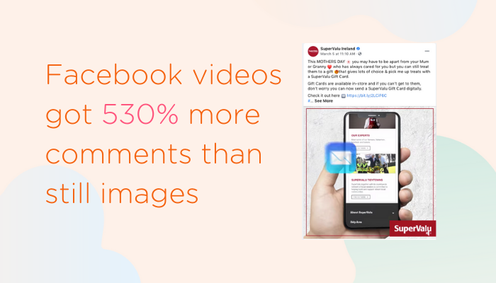 The power of video content on Facebook