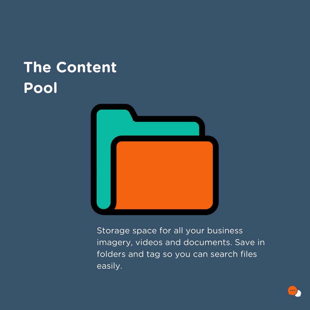 Socio Local's content pool