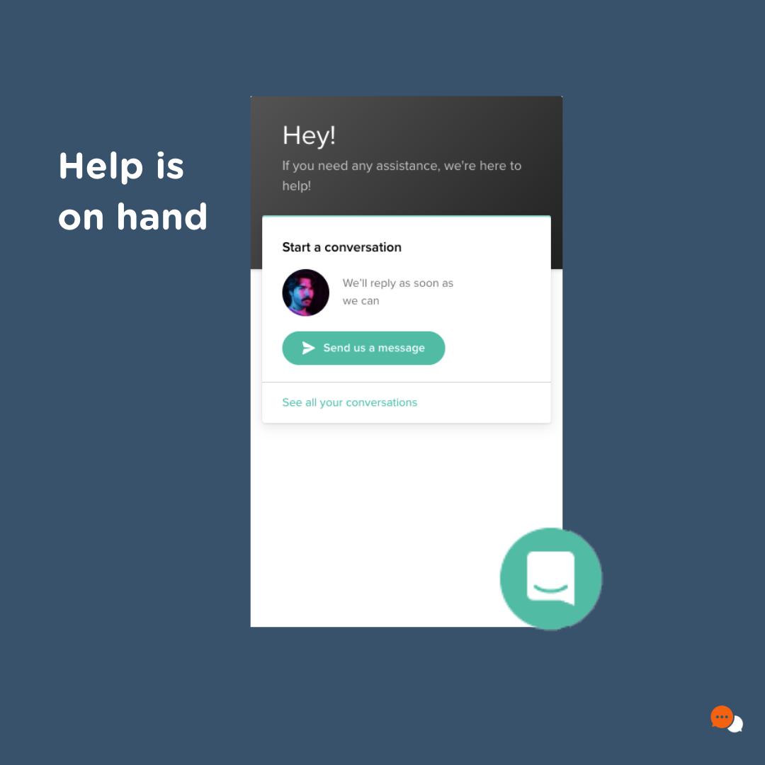 Socio Local's help function with platform Socio Connect