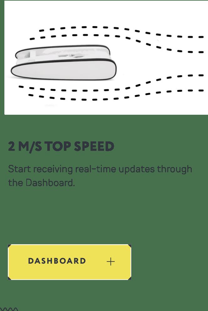 Velocidad máxima de Trident.