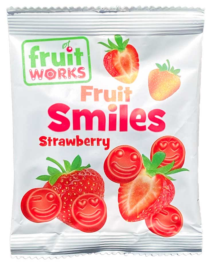 Fruit Works -Bag of Strawberry Smiles