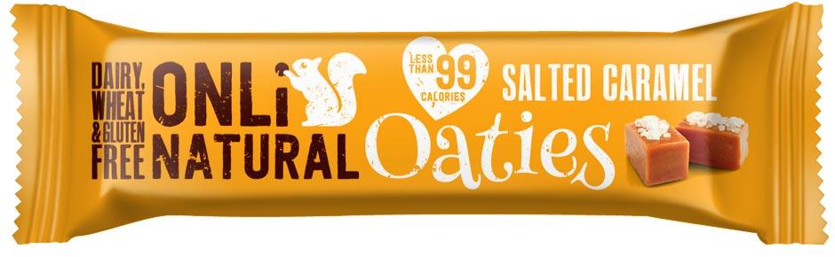 Onli Natural Salted Caramel Oaties Bar
