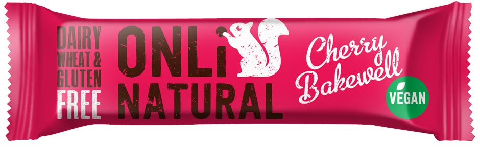 Only Natural Cherry Bakewell Bar