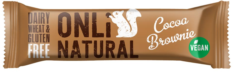 Only Natural Cocoa Brownie Bar