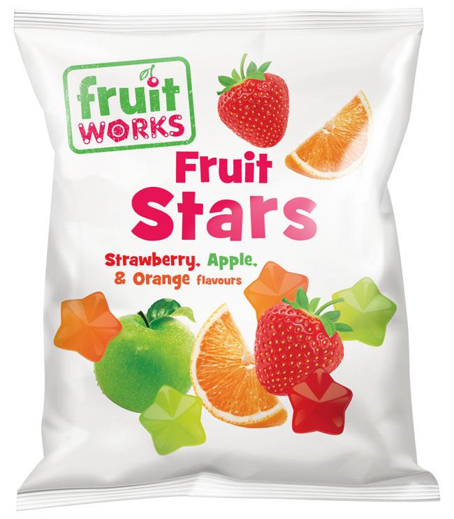 Fruit Works - Bag of Fruit Stars