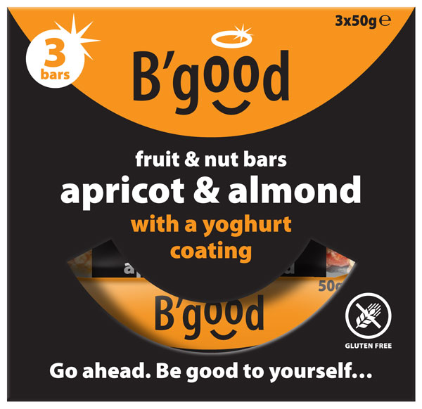 BGood Almond & Apricot Fruit & Nut Multipack