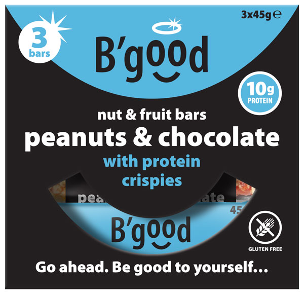BGood Peanut & Chocolate Fruit & Nut Multipack