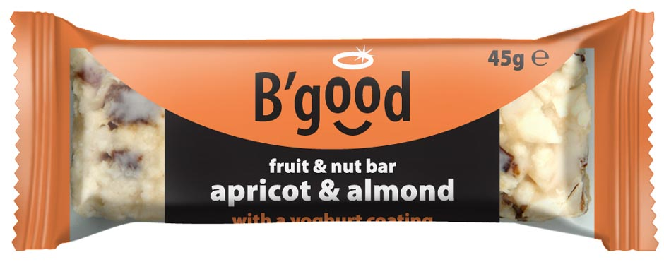 BGood Almond & Apricot Fruit & Nut Bar