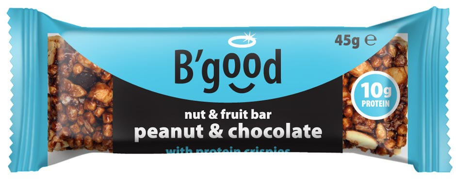 BGood Peanut & Chocolate Fruit & Nut Bar