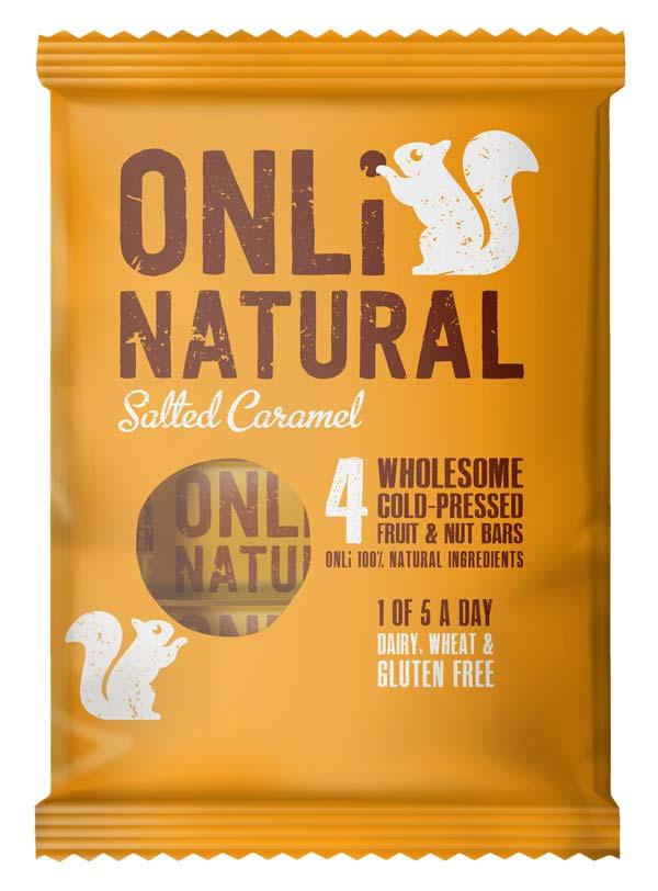Only Natural Salted Caramel Multipack Packshot