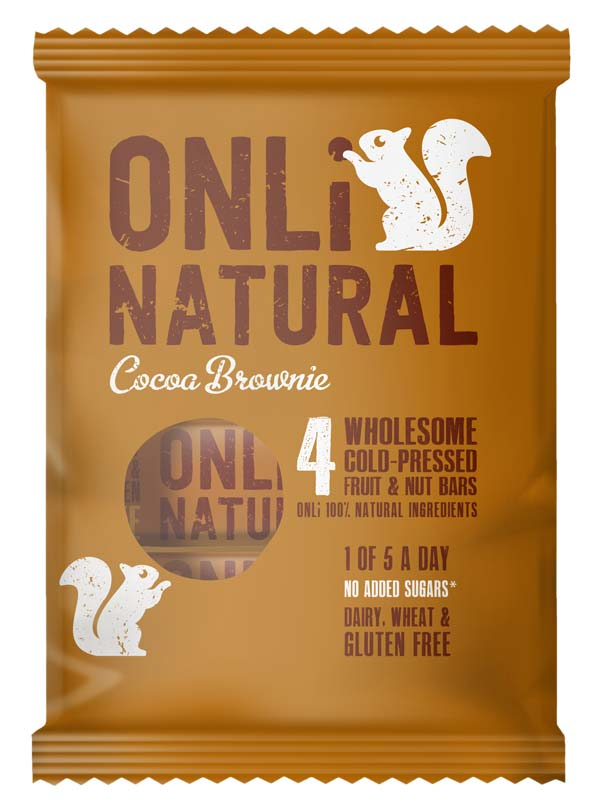 Only Natural Cocoa Brownie Multipack Packshot