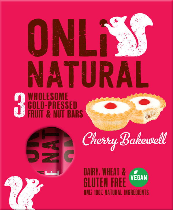 Only Natural Cherry Bakewell Multipack