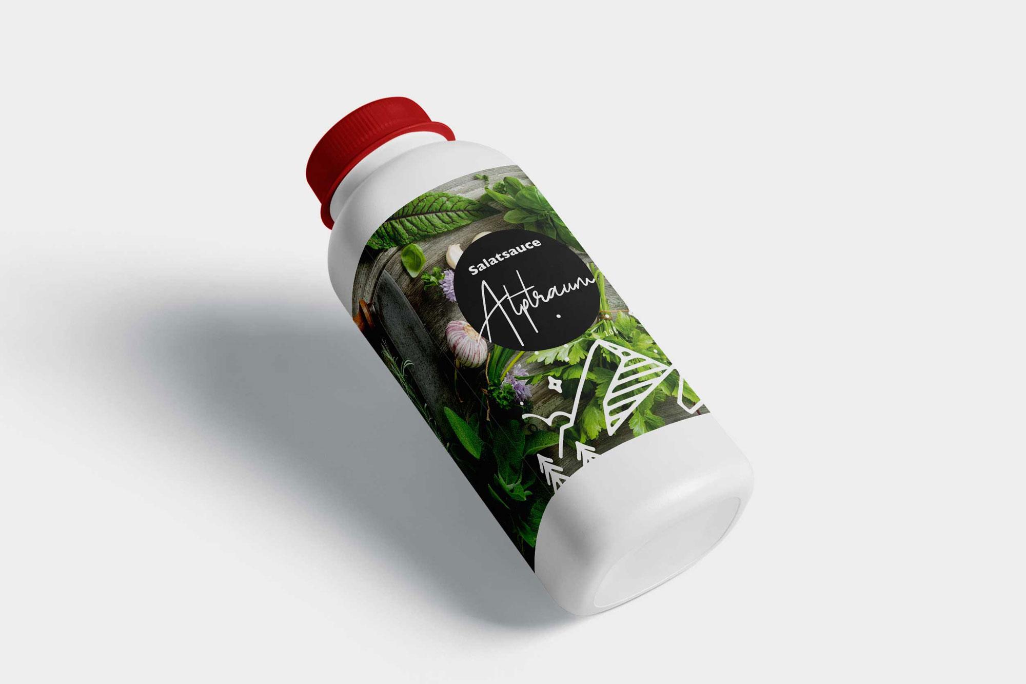 Alpenruh - Kiental | Hausgemachte Salatsauce Alptraum