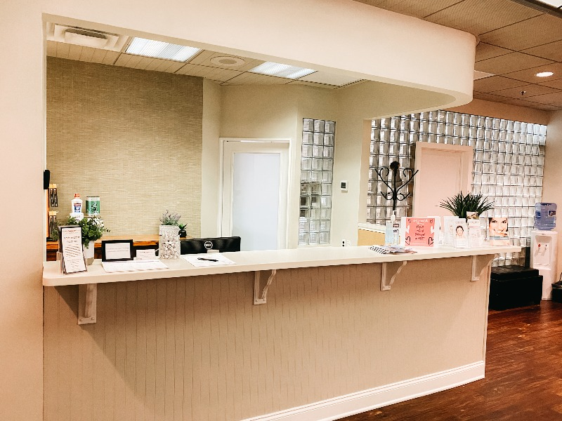 Inside of Foote Orthodontics office