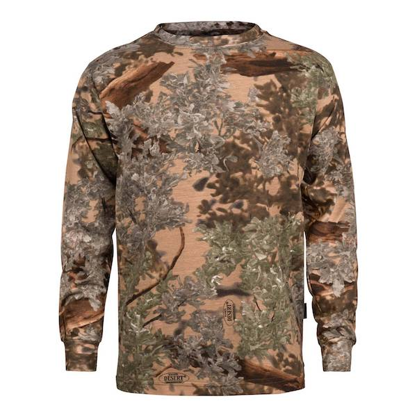 King's Camo Kid's Long Sleeve Shirt