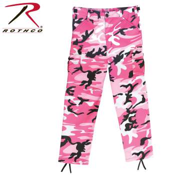 Rothco Kids BDU Pants - Pink Camouflage
