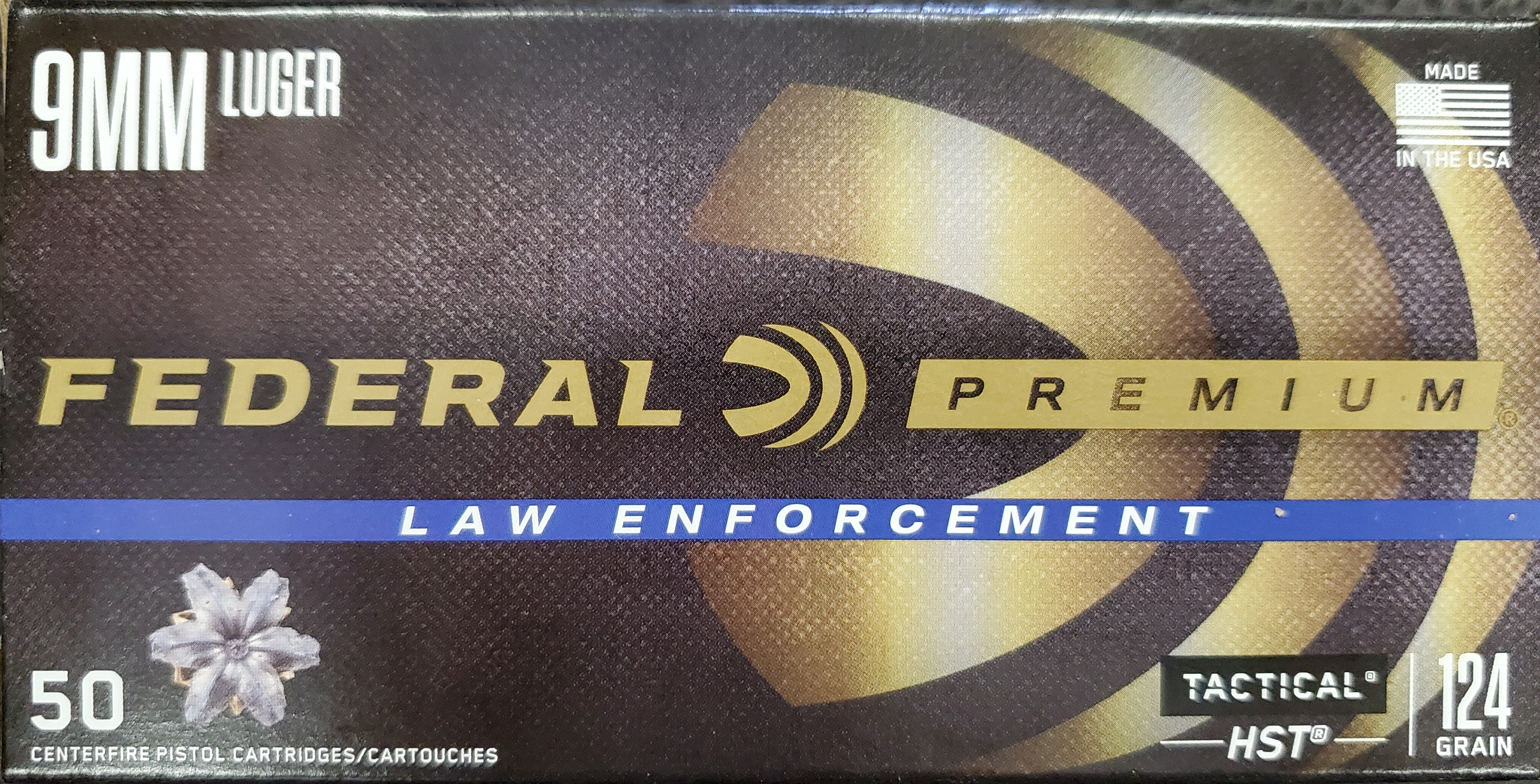 Fereral Premium Law Enforcement HST 9mm Luger
