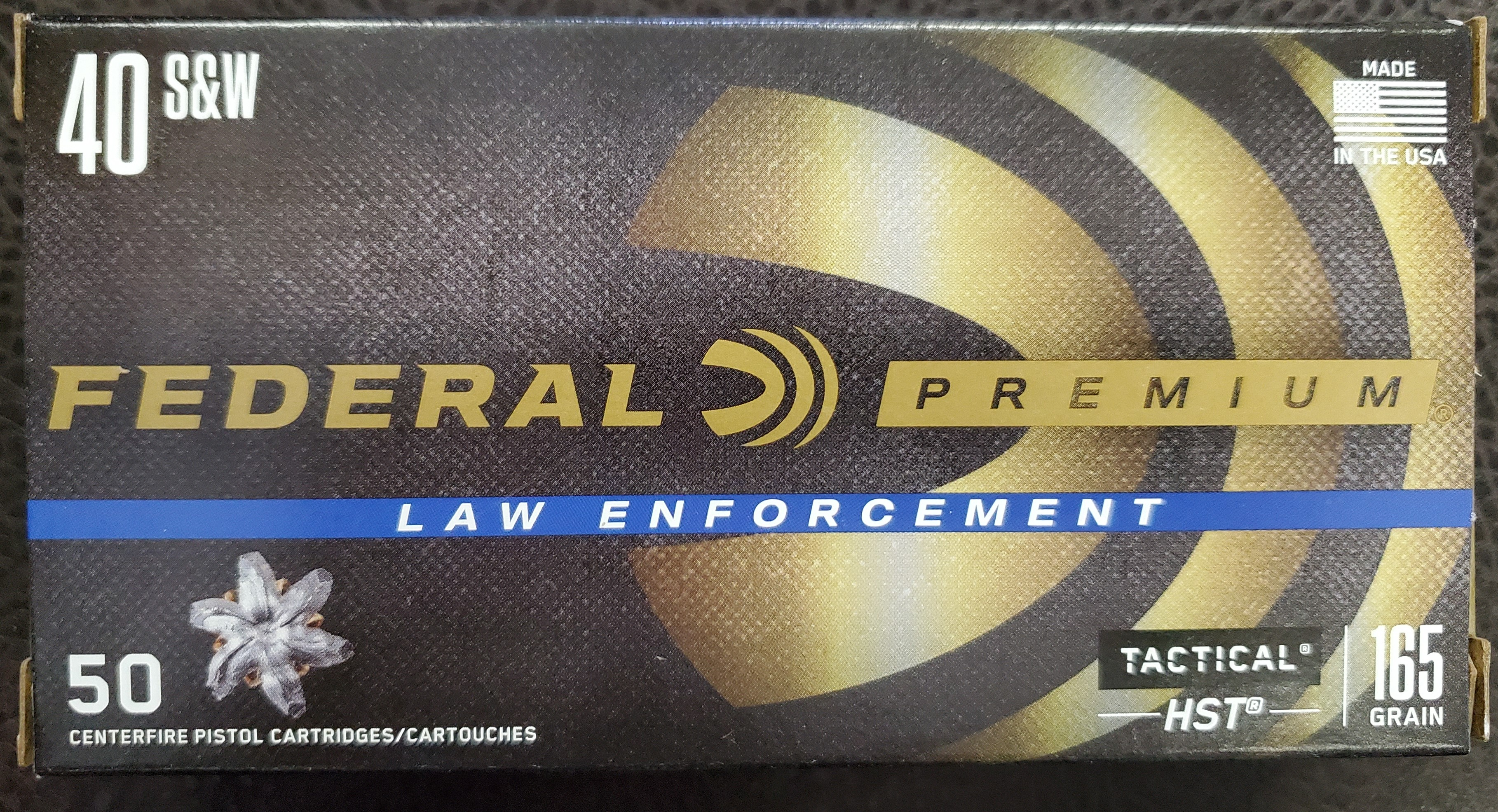 Federal Premium Law Enforcement Tactical HST 40 S&W