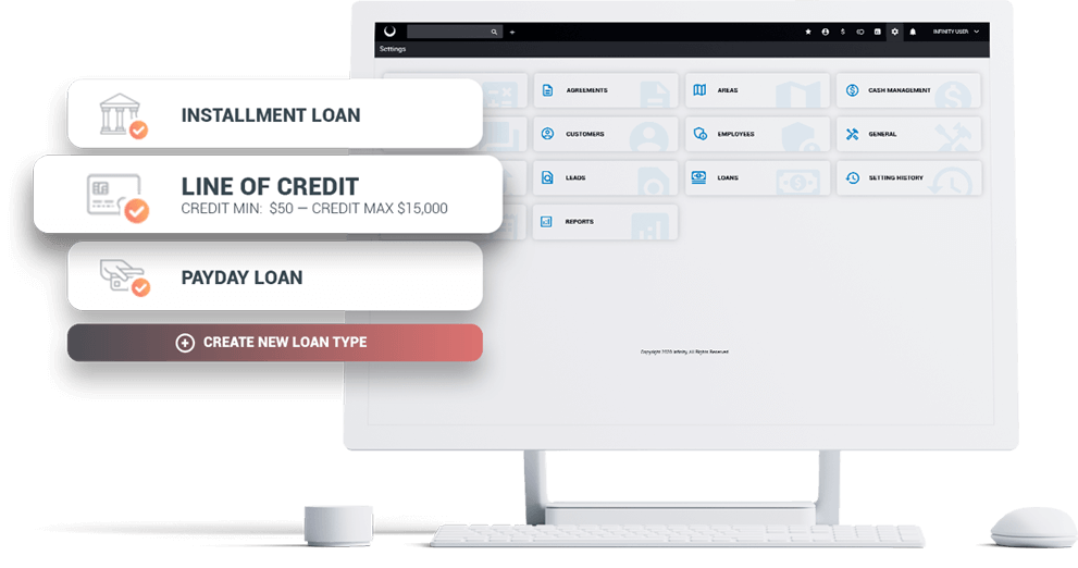 Lending business platform