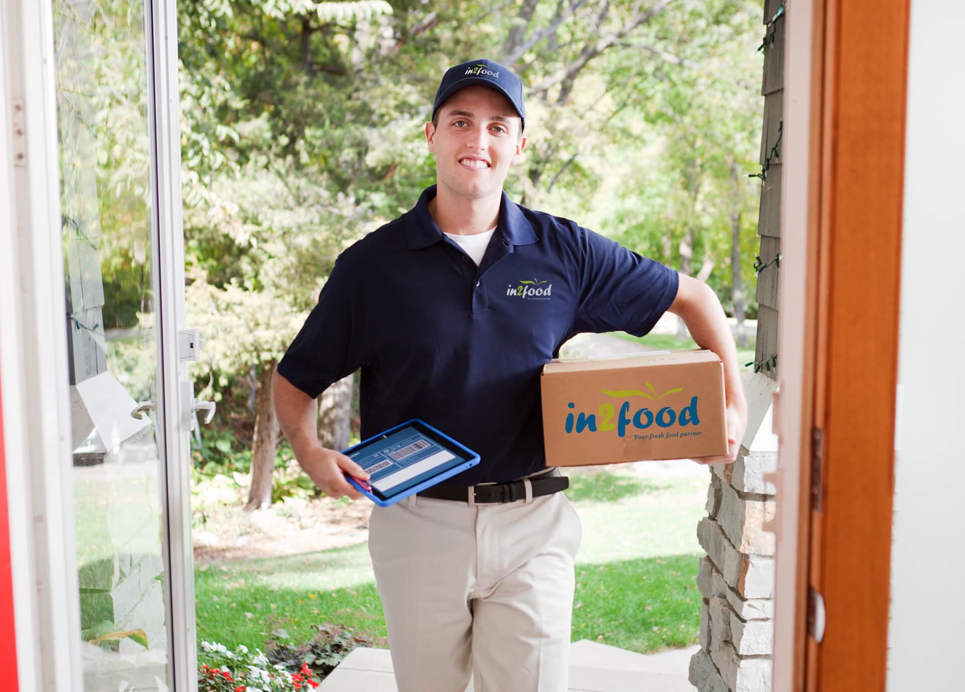 In2food deliver man