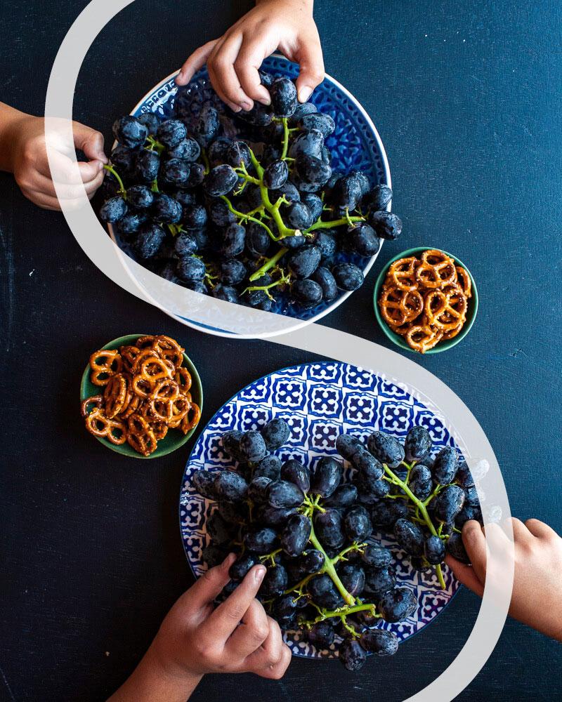 Curva S  composição - fotografia de alimentos -