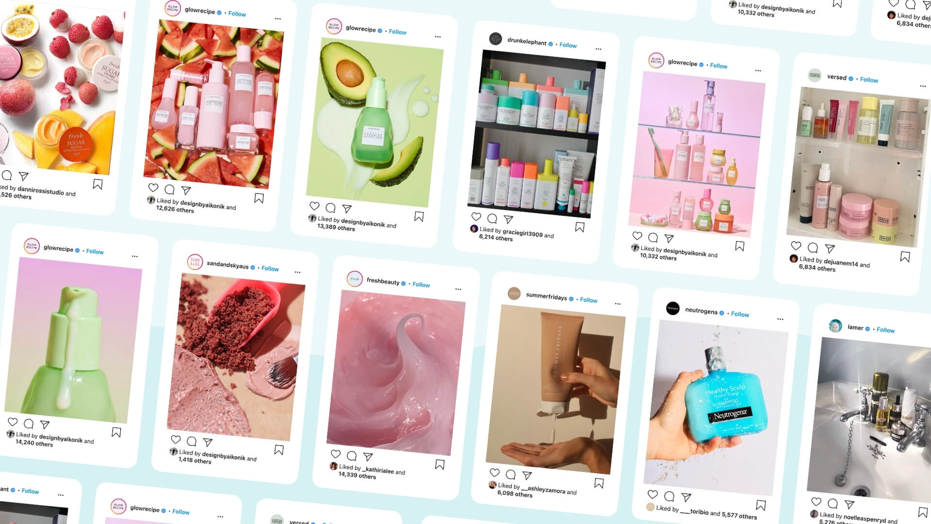 We Analysed the Visuals of Top Skincare Brands - Here's What Content Performs Best in 2021