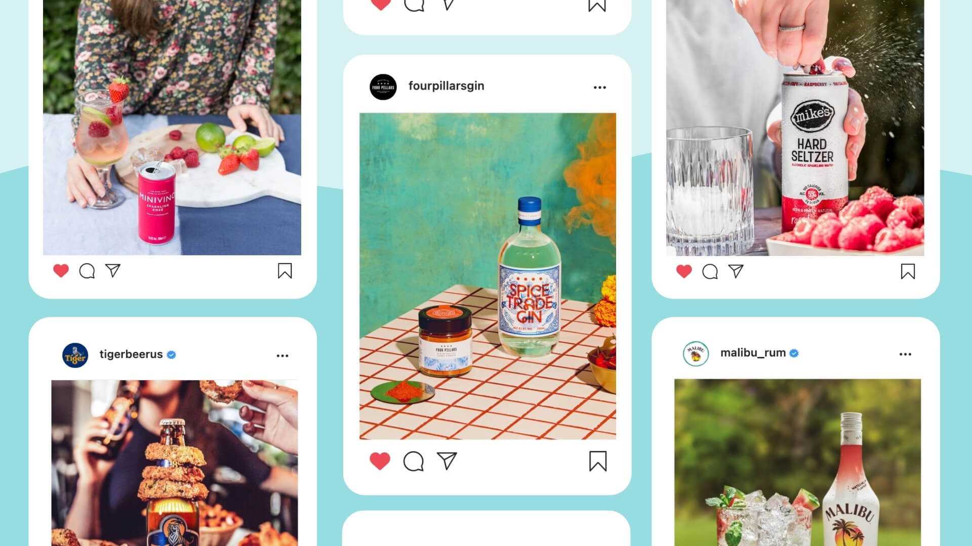 5 things alcohol brands crushing it on Instagram have in common