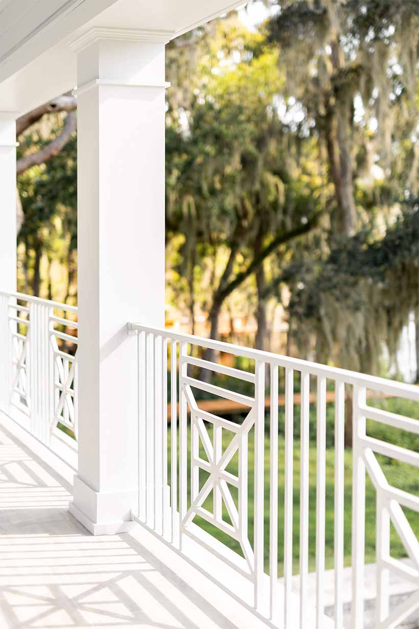 Jacksonville Porch with River View