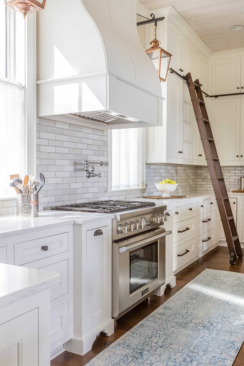 Kitchen with Ladder