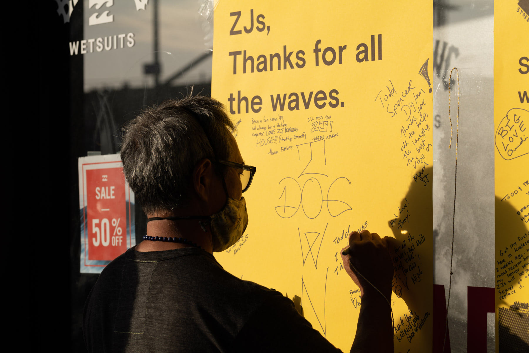 ZJs thanks for all the waves