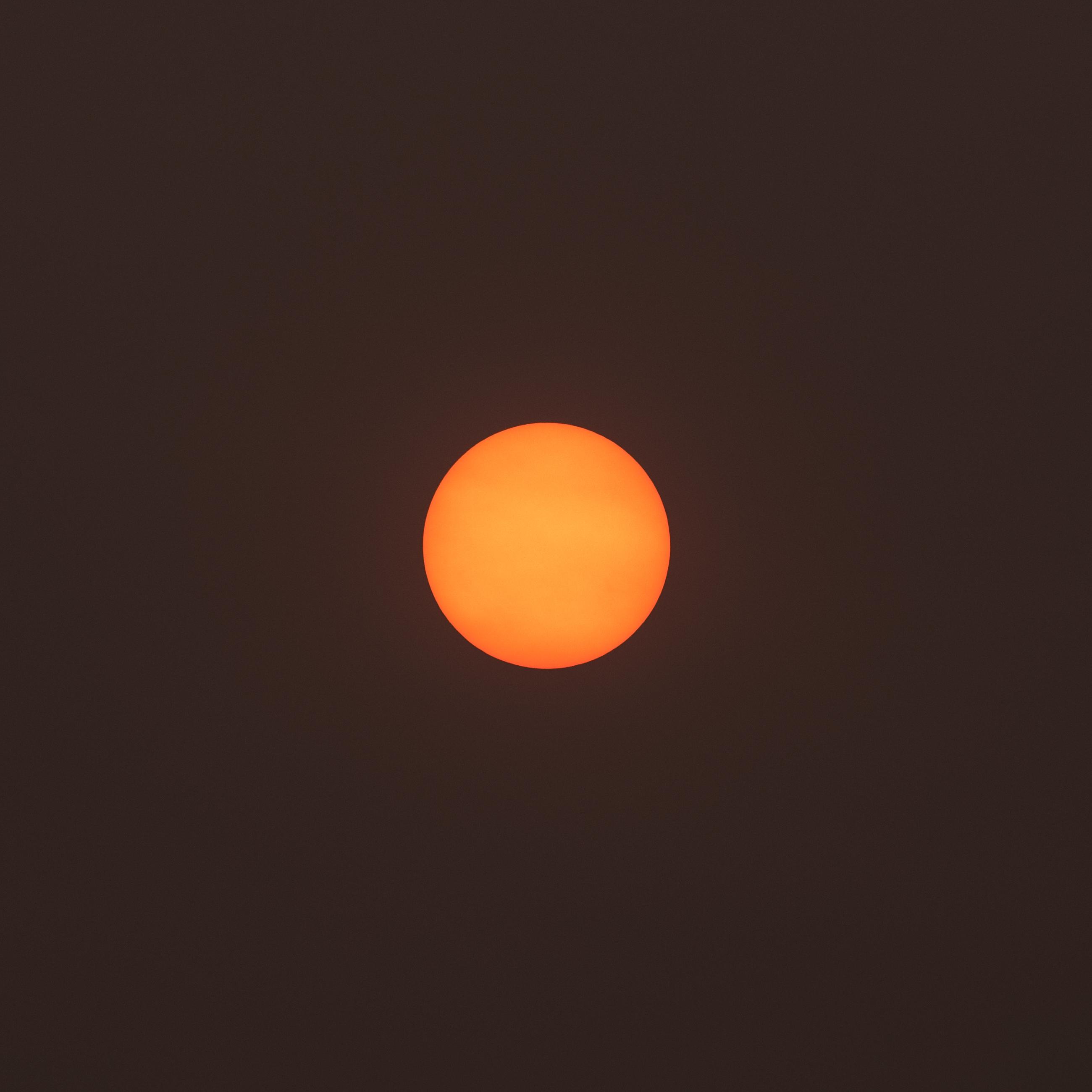 9/11 @ 7:31am. 69 degrees. Smokey.