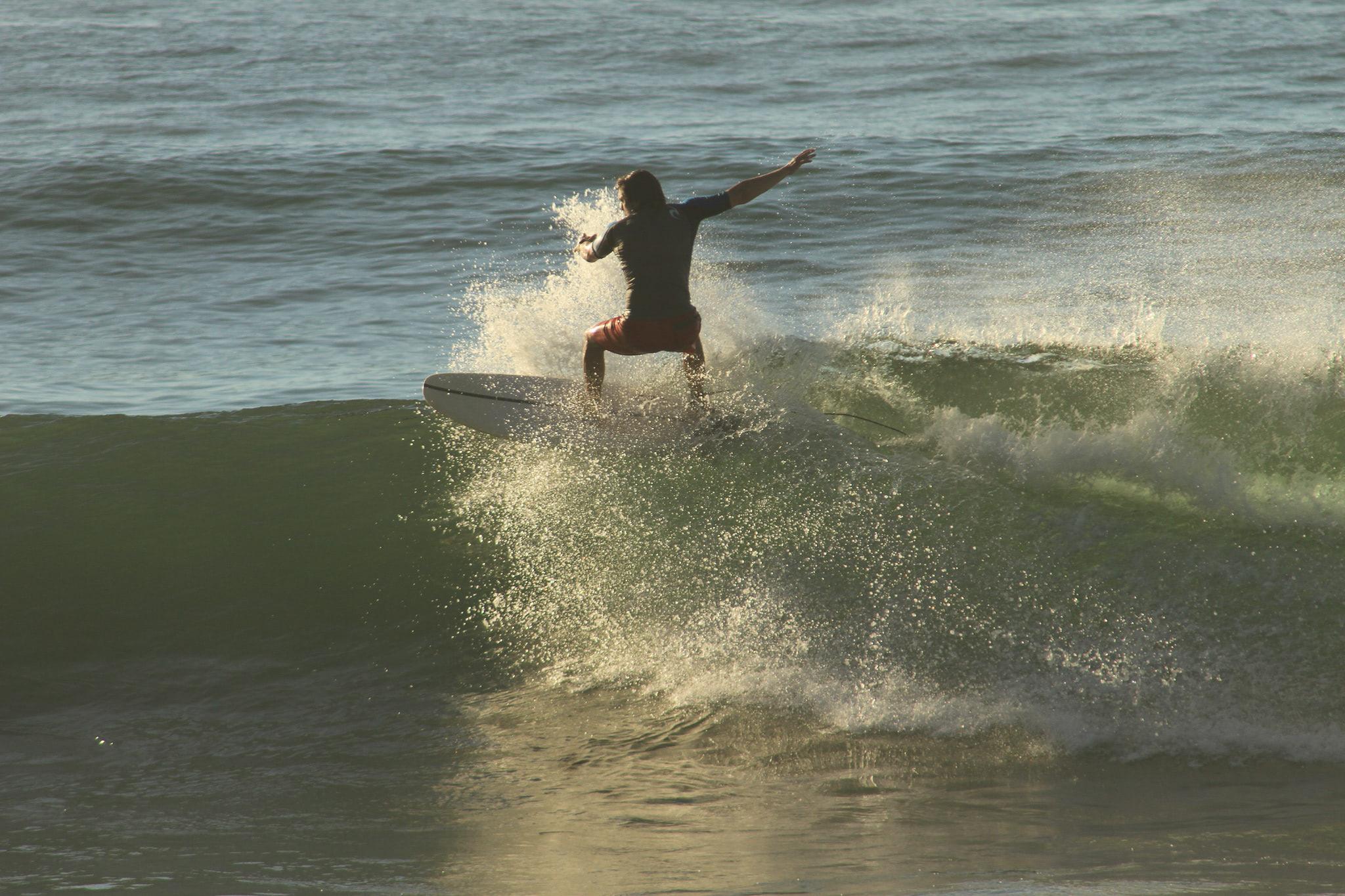 Steve Berry Surfing
