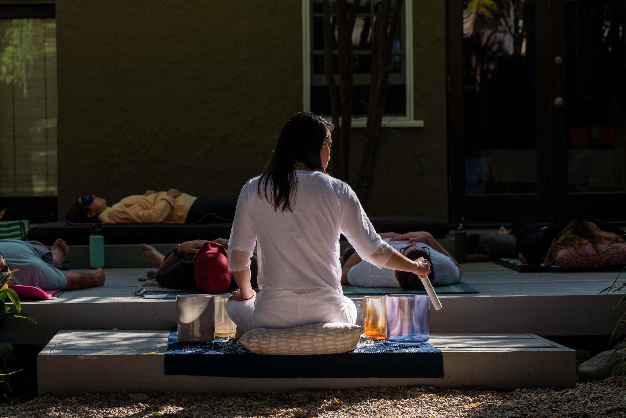 Alice Hu Sound Bath