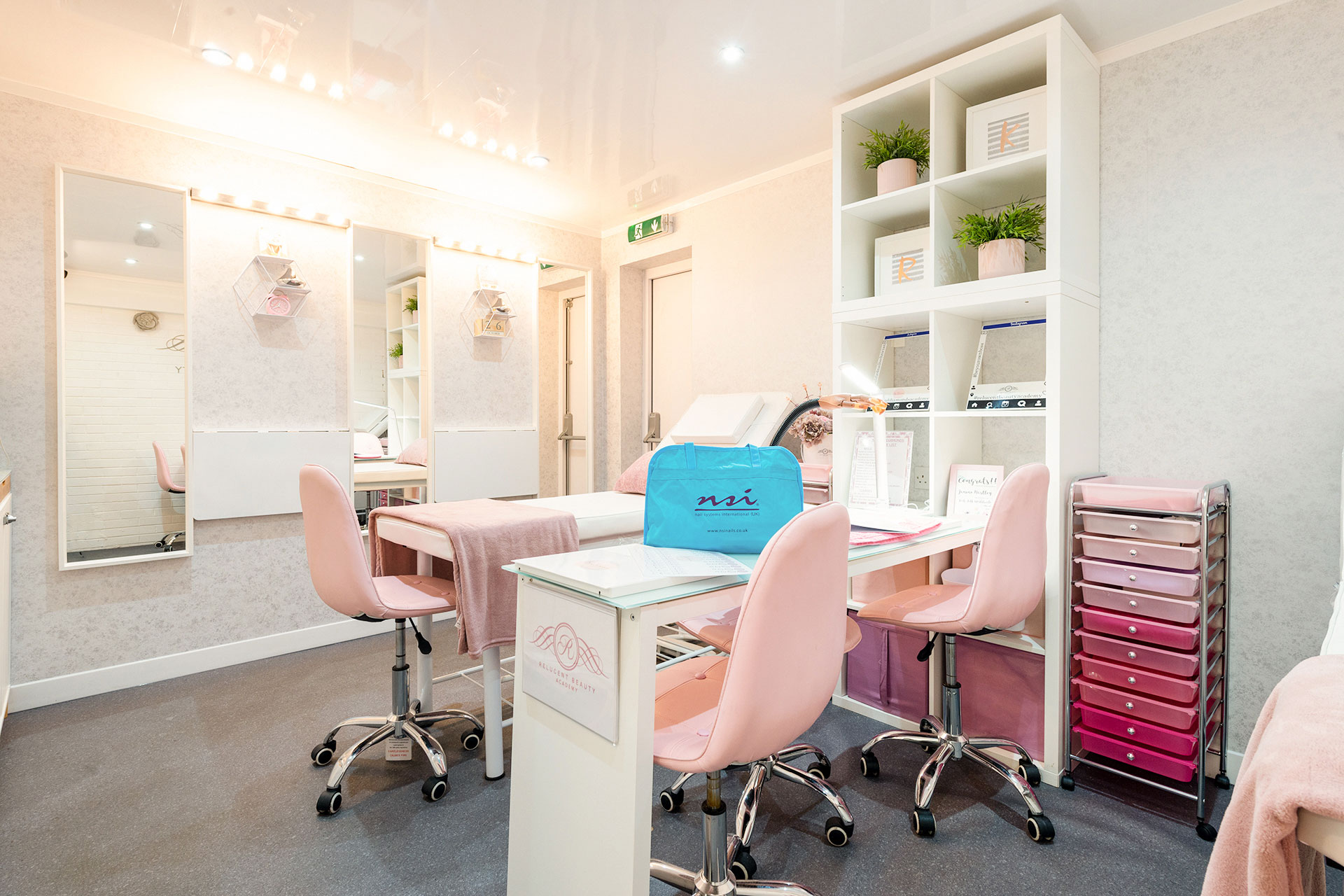 Relucent Beauty Aesthetics Training Academy Training in Manchester.
