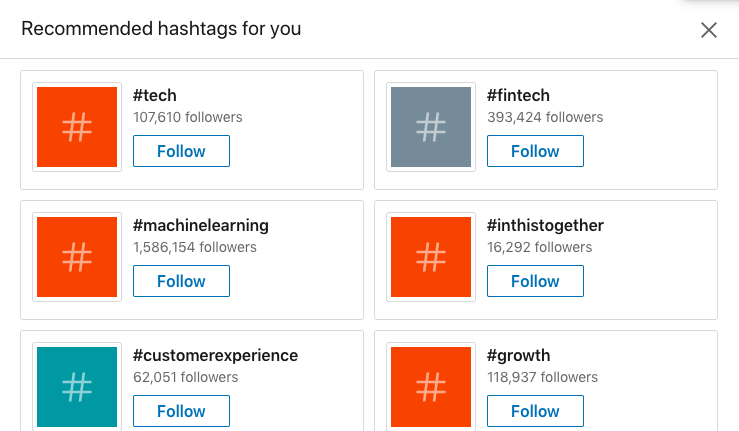 Discover the best LinkedIn Hashtags