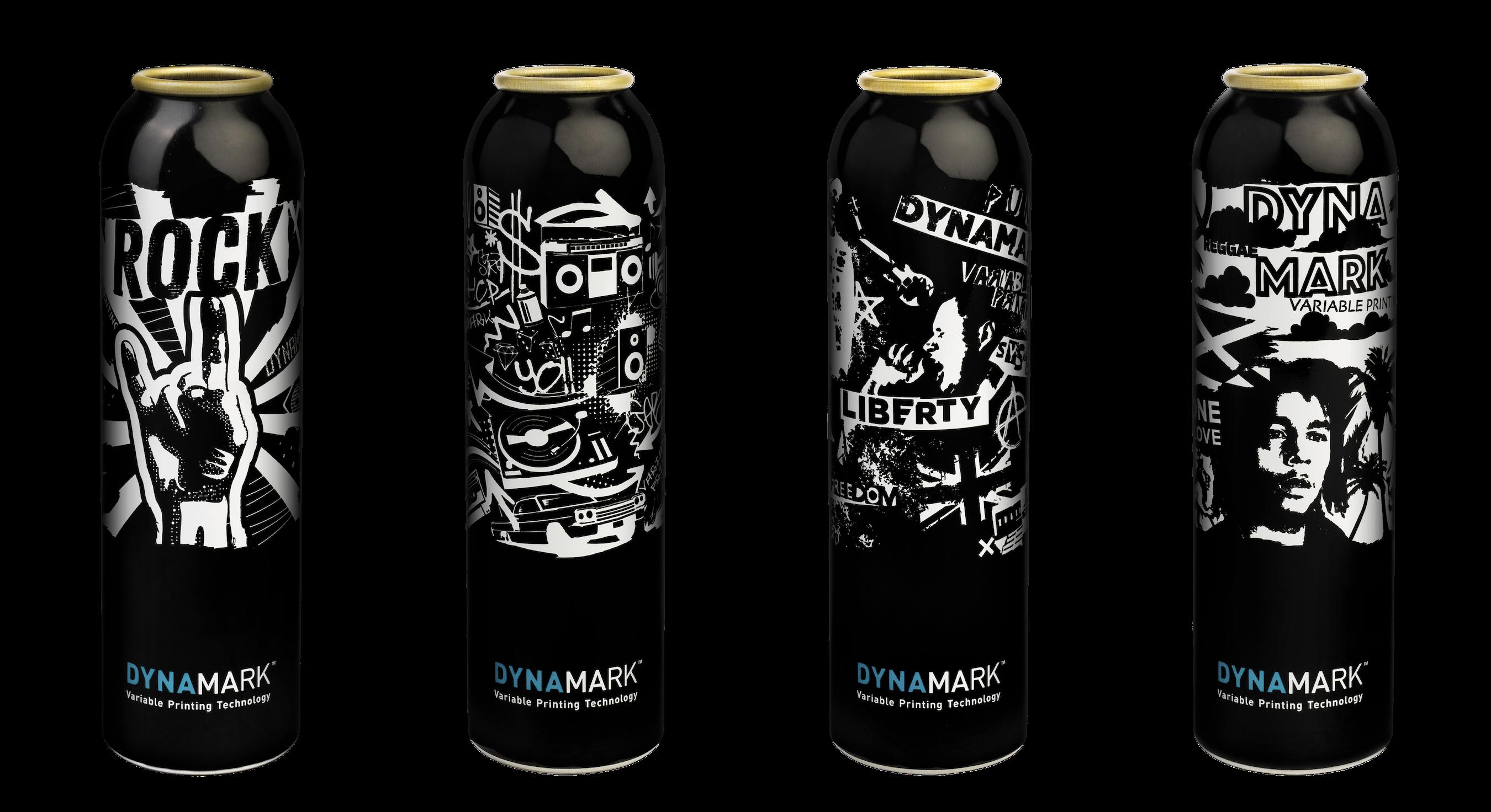 Dynamark Aluminum Cans
