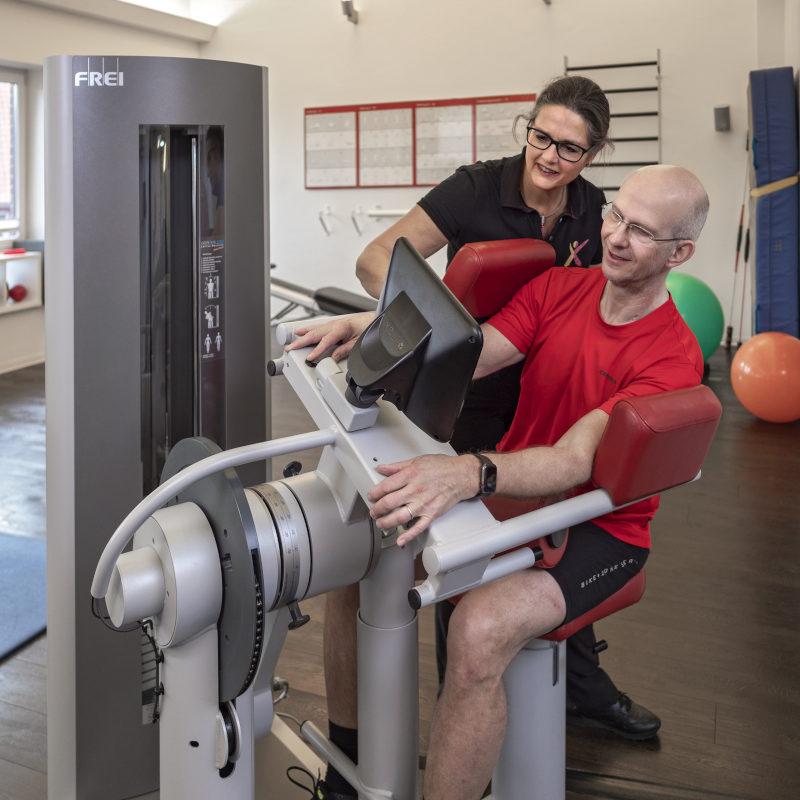 Bild zum Thema medizinische Trainingstherapie