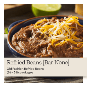 Bar None Old Fashion Refried Beans