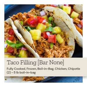 Bar None Taco Filling