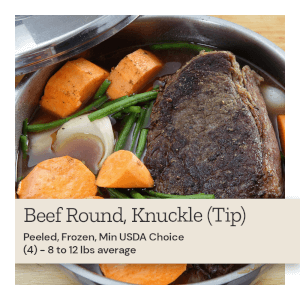 Beef Round Knuckle (Tip)