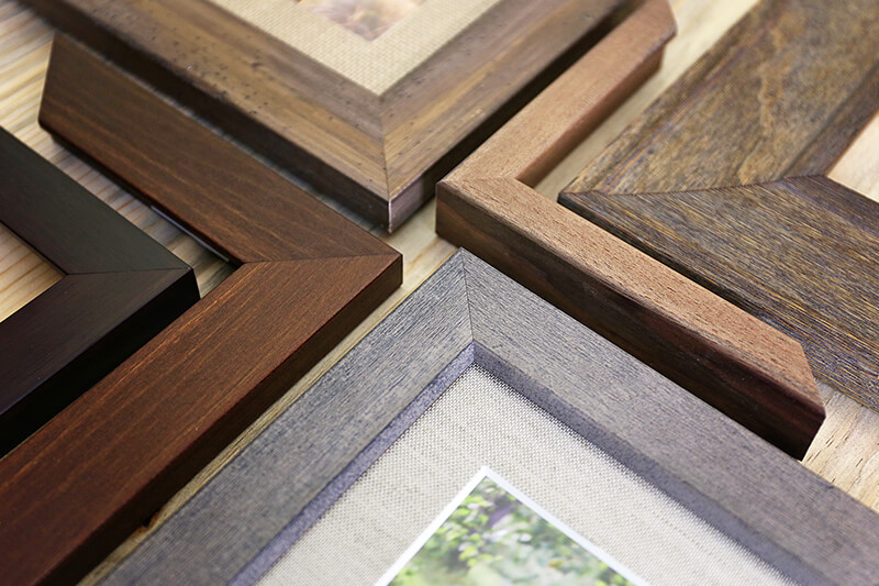 A properly finished custom frame is the union of artwork and molding.