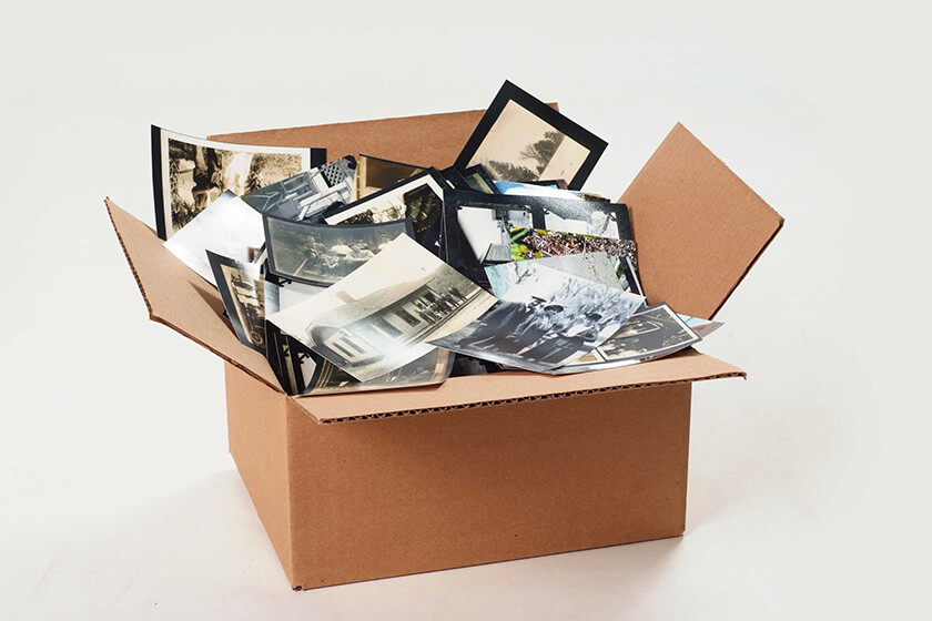 Scan + digitize your printed photos, 35mm slides and other analog materials.