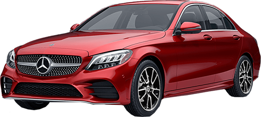 Mercedes-Benz C 200 with AMG Line