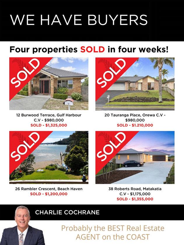 We have buyers